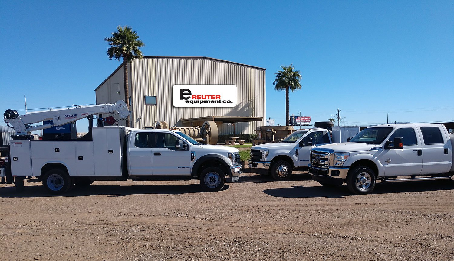Reuter Equipment Service Trucks